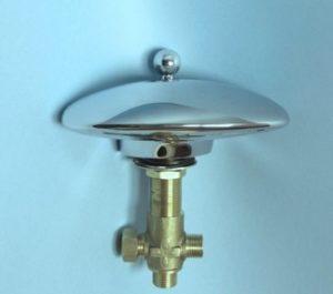 Излив с пневмо переключателем(к этому изливу можно подобрать любой смеситель и лейку на ваш выбор).