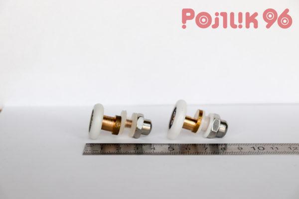 Ролики дверные одинарные эксцентриковые металл