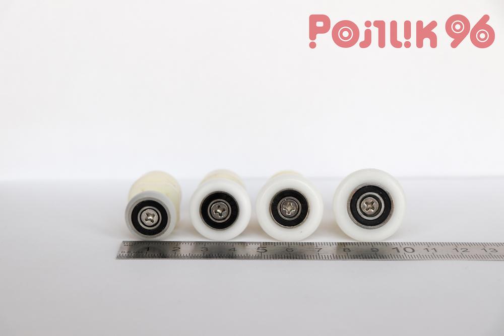 Ролики дверные одинарные эксцентриковые пластик