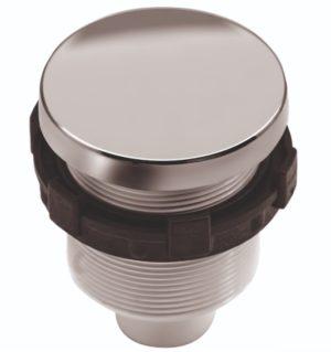 Кнопка (пневматическая) Регулятора воздуха Премиум пластик, хром