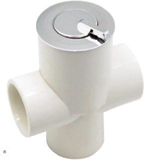 Турбопул FLAT пластик, хром Область применени: основной гидромассаж