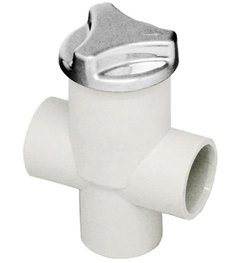 Турбопул тип «К» пластик, хром
