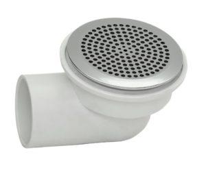 Водозабор FLAT maxi пластик, хром