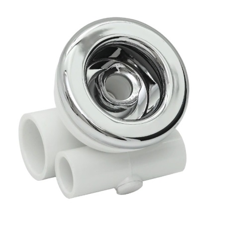 Джета гидро (форсунка) Аква-Джет 32*20 пластик, хром
