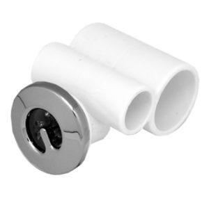 Джета гидро (форсунка) Микро 32-20 ротатив STD пластик, хром