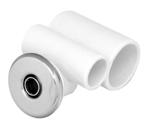 Джета гидро (форсунка) Микро 32-20 пластик, хром