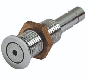 Джета аэро (форсунка) FLAT 1 выход металл, хром